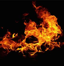 Vuur schept aarde